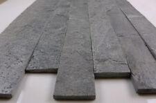 Silver quartzite Split face bandes 600 x 60 (échantillon)