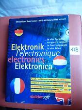 Wortschatz elektronischer Begriffe in Englisch Deutsch Niederländisch Französisch CD PC Wörterbuch