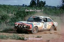 Jean-Pierre Nicolas Peugeot 504 V6 Coupe Ivory Coast Rally 1978 Photograph