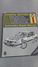 Haynes Chevrolet Beretta 1987-96 Automotive Repair Manuals 3 each! + Olds Buick