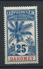 Dahomey N°24* (MH) 1906/7 - Palmiers