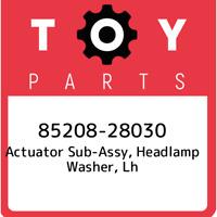 85208-28030 Toyota Actuator sub-assy, headlamp washer, lh 8520828030, New Genuin