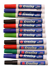 Whiteboard markers ***12 PENS***  white board Mixed colours Easy Wipe Bullet tip