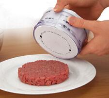Adjust A Burger Hamburger Patty Maker Makes 1/4, 1/3 & 1/2lb Perfect Patties New