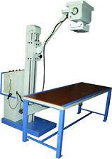New Mobile X-ray Machines 100mA,100KVp and 60mA 100KVp 250mAs With Bucky Table