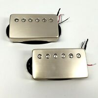 Bare Knuckle Painkiller Calibrated Bridge/Neck Humbucker Pickup Set Raw Nickel