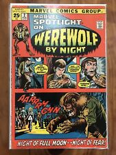 Marvel Spotlight 2 - First appearance of Werewolf by Night - 4.0 VG - J/D