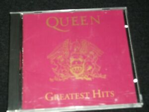 QUEEN<>GREATEST HITS<>Canada Cd (1992) ~HOLLYWOOD CD 61265