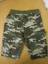 V3880 Camo Pants Infant Baby Green Brown, New, Size 3-6 Months Camouflage