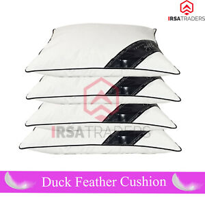 Quality Duck Feather & Down Cushion Pads Inner Inserts Fillers Bedding Pad New