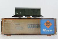 A.S.S Roco Spur N gedeckter Güterwagen Gerätewagen DB Grün OVP ToP 02329 D