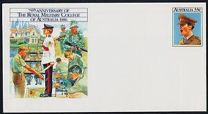 Australia E165 Pre-paid envelope - Royal Military College, Duntroon