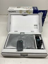 """Sony DPF-D70 S-Frame 7"""" Digital Photo Picture Frame Black New in Box"""