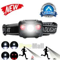 Tactical Headlight 4 Modes LED Headlamp Torch Helmet Light Flashlight Waterproof