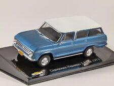 1971 CHEVROLET VERANEIO S LUXE in Blue 1/43 scale partwork model