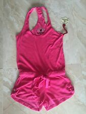 NWT Twisted Heart Hot Pink Harlow French Terry Romper  size XS $149