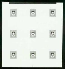 Kiribati 1981 Postage Due set COMPOSITE PROOF SHEET-2