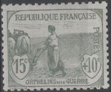 "FRANCE STAMP TIMBRE N° 150 "" ORPHELINS FEMME LABOUR 15c + 10c "" NEUF xx TTB K164"