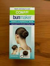 Conair Bun Maker Set for Cool Formal Hairstyles (6 pieces) Brown Color