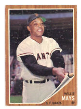 1962 Topps Willie Mays San Francisco Giants #300