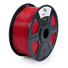WYZworks 3D Printer Premium PETG Filament 1.75mm 1kg/2.2lb - RED