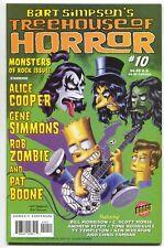 Simpsons Treehouse Of Horror 10 Bongo 2004 Gene Simmons Alice Cooper Rob Zombie