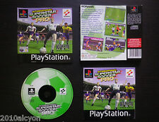 JEU PLAYSTATION PS1 PS2 : INTERNATIONAL SUPERSTAR SOCCER PRO (football COMPLET)