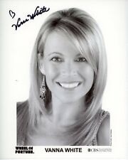 VANNA WHITE Signed Autographed WHEEL OF FORTUNE Photo