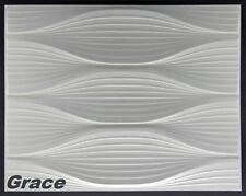 5 M2, Panel 3d PLACAS PANEL MURAL 3d Placa de Pared pared techo, 62x80cm Grace