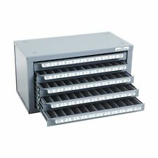 Huot 13550 Five Drawer Tap Dispenser Cabinet For Machine Screw Sizes 2 56 To
