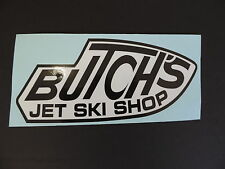 Team Butch's Jet Ski Shop Decal Kawasaki Jet Ski JS550 JS650 JS750 Superjet