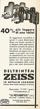 W2524 Binocoli ZEISS Deltrintem - Pubblicità 1938 - Old advertising