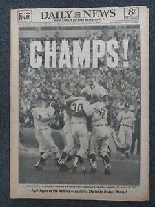 1969 Mets - NLCS - Baseball Playoffs - New York Daily News Newspaper