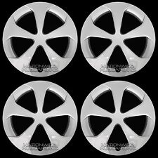 "4 New 2010-2015 Toyota Prius 15"" Wheel Covers Hub Caps Full Snap on Rim Hubs R15"