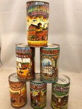 American Brewers Historical Collection - 6 empty beer cans