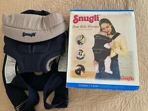 GENUINE Vintage USA Made Snugli  Baby / Dog Carrier Adjustable Blue 2001