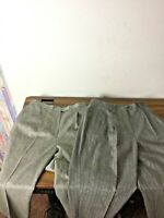 lot 2 Lauren Ralph Lauren Pants Slacks 100% pure Wool Pleated Women's Gray Sz 10