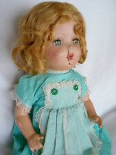 """Vintage ARRANBEE, A&B or MADAME ALEXANDER 1920-30 Composition JOINTED 19"""" DOLL"""