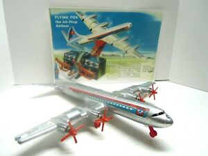 1960's Remco Battery Op Flying Fox Plane & Store Display. A+. WORKS.NO RESERVE
