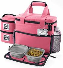Mobile Dog Gear Week Away Dog Travel Bag for Small Dogs Pink