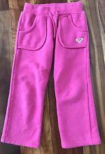 Roxy Girls Track pants Size 4 Pink Fleece #SundayMarket