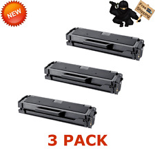 3 pk MLT D101S Toner Cartridge for Samsung ML-2165W SCX-3405FW SCX-3405W Printer