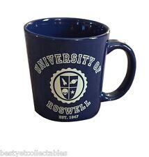 The X Files Roswell Ufo Double Sided Coffee Ceramic Mug Rare