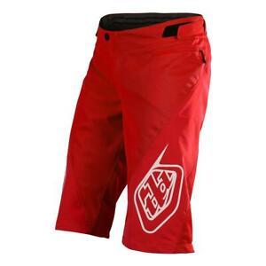 Shorts TroyLeeDesigns Sprint, red, size 28-36