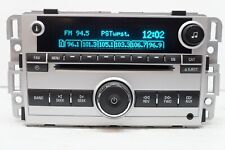 08-09 Chevrolet Equinox Radio AM FM CD Player ID: 25994581 OEM
