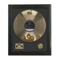 Pink Floyd Comfortably Numb Laser Etched Gold LP Record Framed Display