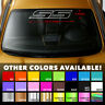 SS OUTLINE Windshield Banner Vinyl Decal Sticker for CHEVY CAMARO IMPALA COBALT