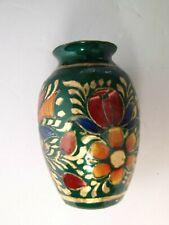 Cloisonne Floral Vase