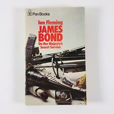 Ian Fleming James Bond On Her Majesty's Secret Service Pan Books Paperback 1972