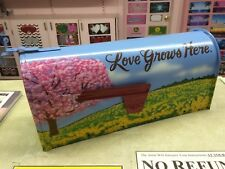 *Custom Painted* Rural-Style Standard-Size MAILBOX *your design idea BOTH SIDES*